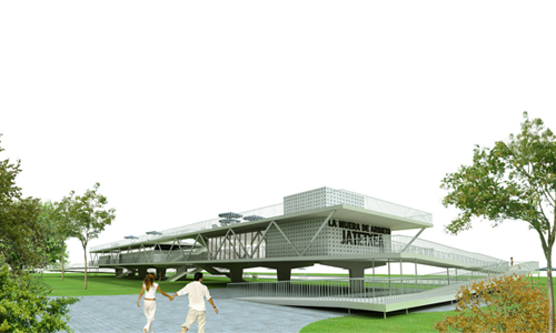 Arquitecnica for Piscinas municipales bilbao